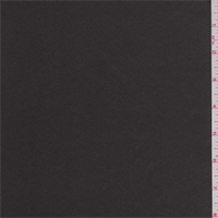 *1 YD PC--Smoke Black Polyester Satin