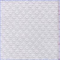 *2 YD PC--White Lattice Lace