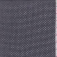 Charcoal Grey Pinhole Microsuede
