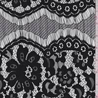 Black Floral Lace