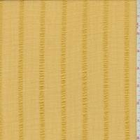 Bright Gold Stripe Crepe Chiffon