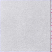 *3/4 YD PC--White Polyester Fleece