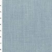 *3/4 YD PC--Blue/White Cotton Blend Chambray Shirting