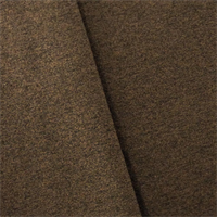 *12 YD PC--Chocolate Brown Heathered Flannel Home Decorating Fabric