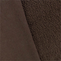 *2 YD PC - Chocolate Brown Single-sided Berber Fleece