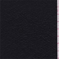 *1 1/8 YD PC--Tuxedo Black Knit Matelasse