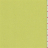*2 YD PC--Lime Bamboo Gabardine