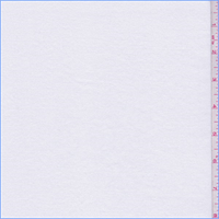 *1 YD PC--White Rib Knit