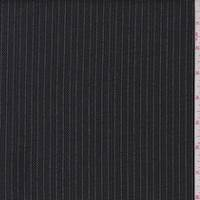 Black/Khaki Stripe Double Sided Suiting