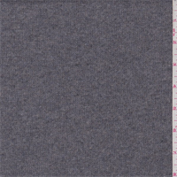 *2 1/8 YD PC--Fog Grey Wool Blend Sweater Knit