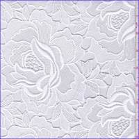 White Peony Guipure Lace