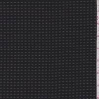 Black Burnout Check Polyester