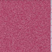 Ruby/White Boucle Twill Jacketing