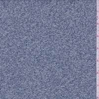 Dusty Blue/White Boucle Twill Jacketing