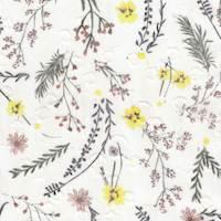 *2 3/4 YD PC--Floral Poly Chiffon