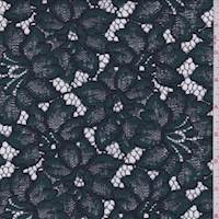 Spruce/Navy Floral Lace