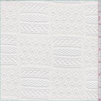Whisper White Block Lace