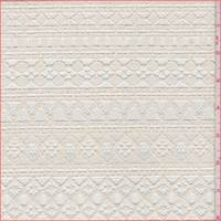 Natural Deco Stripe Lace