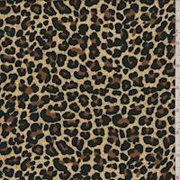*3 YD PC--Buff Mini Cheetah Print Challis