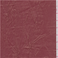 *3 YD PC--Golden Cranberry Red Acetate