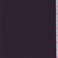 *1 5/8 YD PC--Maroon/Navy Stripe Suiting