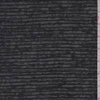 Black/Slate Burnout Stripe Knit