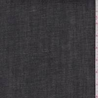 *2 1/2 YD PC--Black Stretch Denim