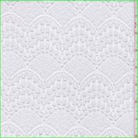 Optic White Scallop Lace