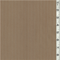 *2 1/4 YD PC--Brown Stripe Suiting
