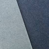 *2 YD PC--Ash Blue Cotton Denim