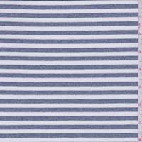 Heather Blue/White Stripe Activewear