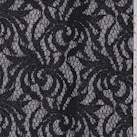 Sterling/Black Scroll Sweater Knit