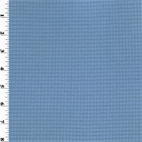 *2 YD PC--Polartec Single Sided Grid Fleece - Cerulean Blue