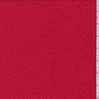Bright Red Embossed Polyester