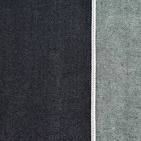 *4 3/4 YD PC--Shadow Navy Blue Cotton Japanese Selvedge Denim
