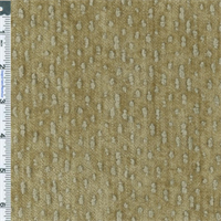 *8 1/2 YD PC - Cork Brown/Beige Chenille Home Decorating Fabric