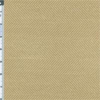 Taupe Beige Herringbone Home Decorating Fabric