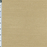 *9 1/2 YD PC - Taupe Beige Herringbone Home Decorating Fabric