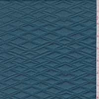 Cerulean Diamond Quilted Knit
