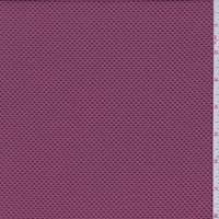Mauve Red Pique Double Knit