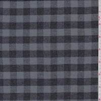 Pewter/Slate Check Flannel