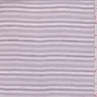 Lilac Pinstripe Cotton Lawn