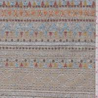 Tan Multi Southwest Stripe Tapestry