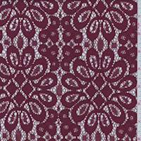Ruby Floral Medallion Lace