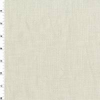 *2 YD PC--Light Beige Cotton Basketweave Home Decorating Fabric