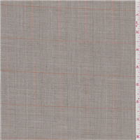 *2 1/4 YD PC--Light Taupe Plaid Suiting