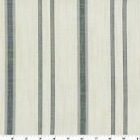 *3 3/4 YD PC--Black/Gray/White Cotton Slub Stripe Shirting