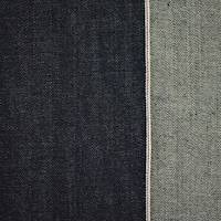 *7/8 YD PC--Deep Indigo Blue Cotton Japanese Selvedge Denim