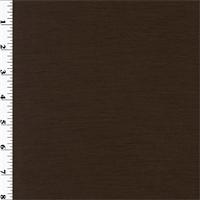 *5 YD PC--Brown Wool Slub Jersey