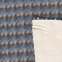 *2 1/8 YD PC--Plaid Coating with Ivory Canvas Back